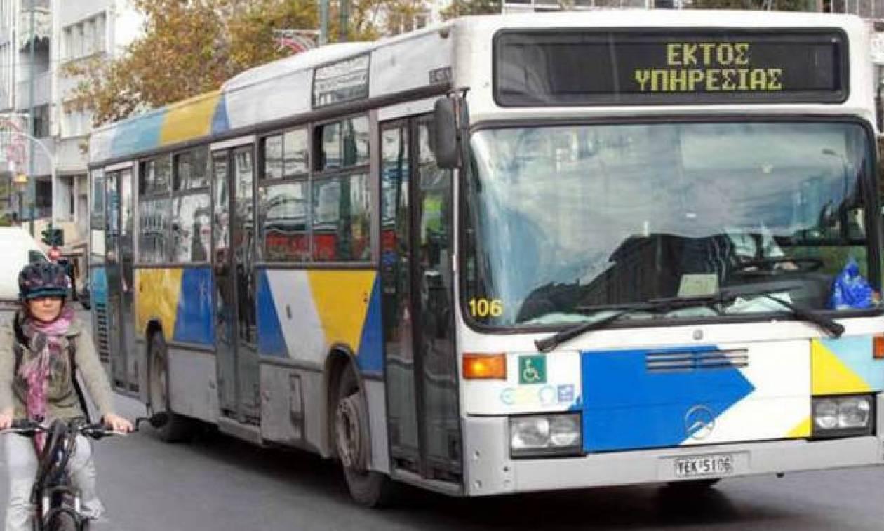 Στάση εργασίας στα λεωφορεία την Πέμπτη (14/06)