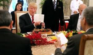 Γαστριμαργική… διπλωματία: Τι έφαγαν Τραμπ και Κιμ