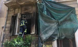 Φωτιά στο σπίτι των Μαυρομιχάληδων στην Κυψέλη