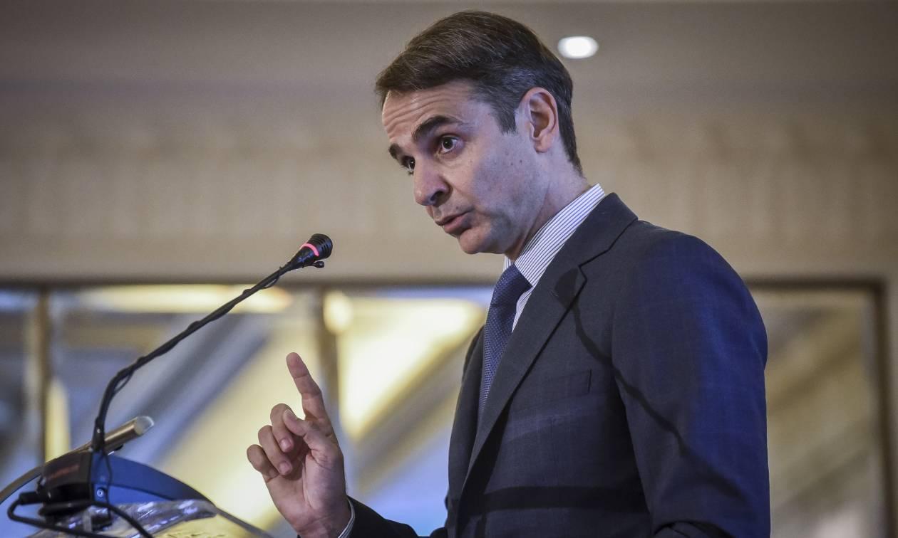 Μητσοτάκης: Ο Τσίπρας δεν έχει νομιμοποίηση να υπογράψει τη συμφωνία με τα Σκόπια