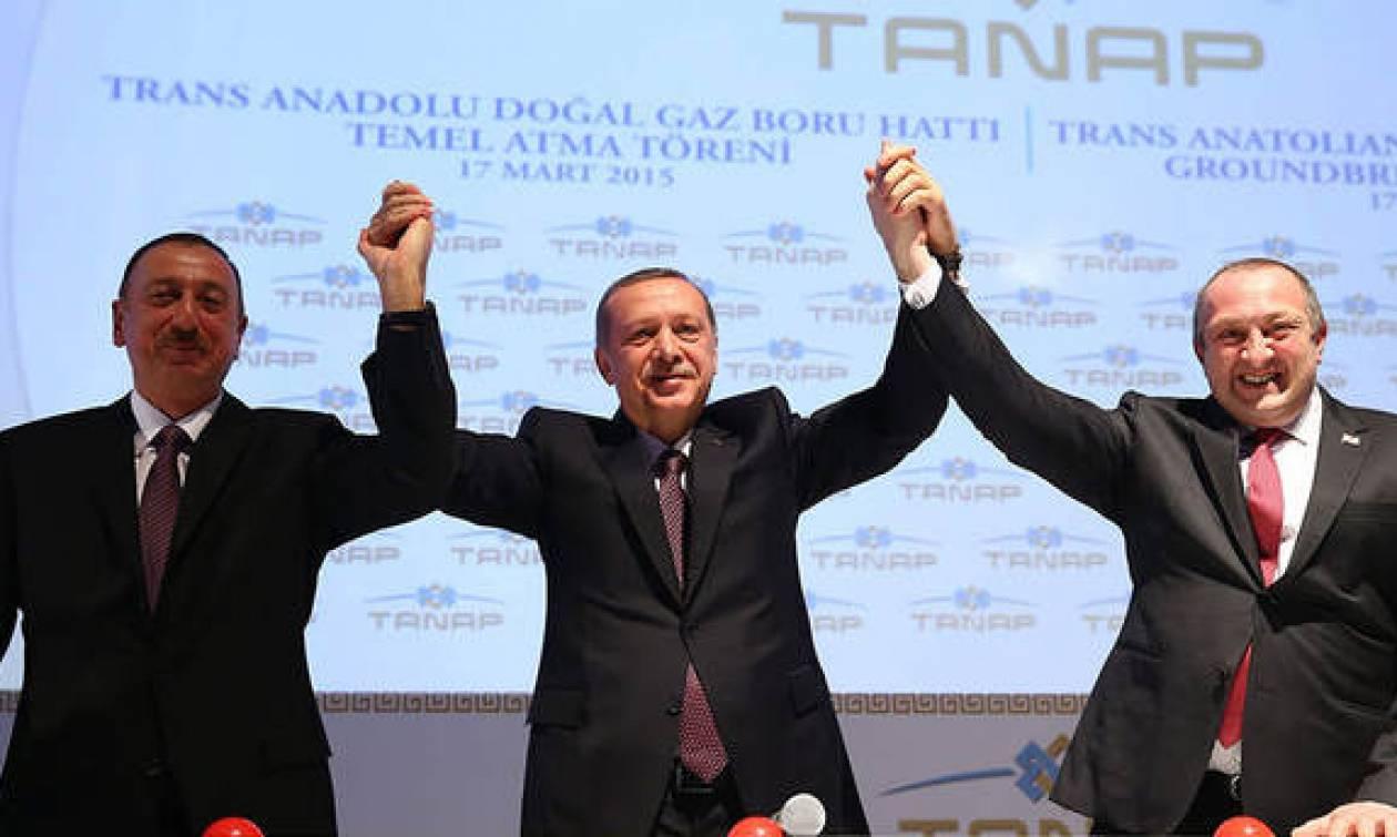 Τουρκία: Ο Ερντογάν εγκαινίασε τον αγωγό Tanap