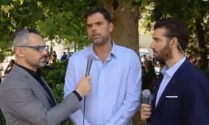 Δημήτρης Παπανικολάου: «Ο Παύλος Γιαννακόπουλος ήταν πρώτα άνθρωπος και μετά businessman» (vid)