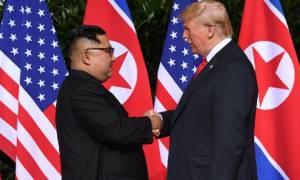 Τραμπ για συμφωνία με Βόρεια Κορέα: «Κοιμηθείτε ήσυχα σήμερα»
