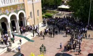 В Греции простились с Павлосом Яннакопулосом