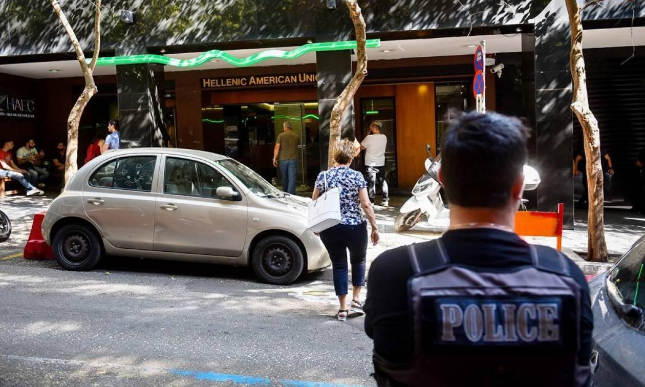 Ποινική δίωξη σε βάρος των συλληφθέντων για την επίθεση Ελληνοαμερικανική Ένωση