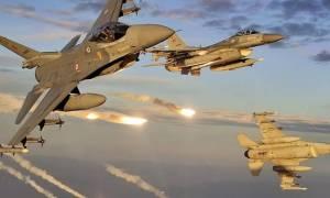 Συναγερμός στο Αιγαίο για εικονικές αερομαχίες ελληνικών και τουρκικών μαχητικών