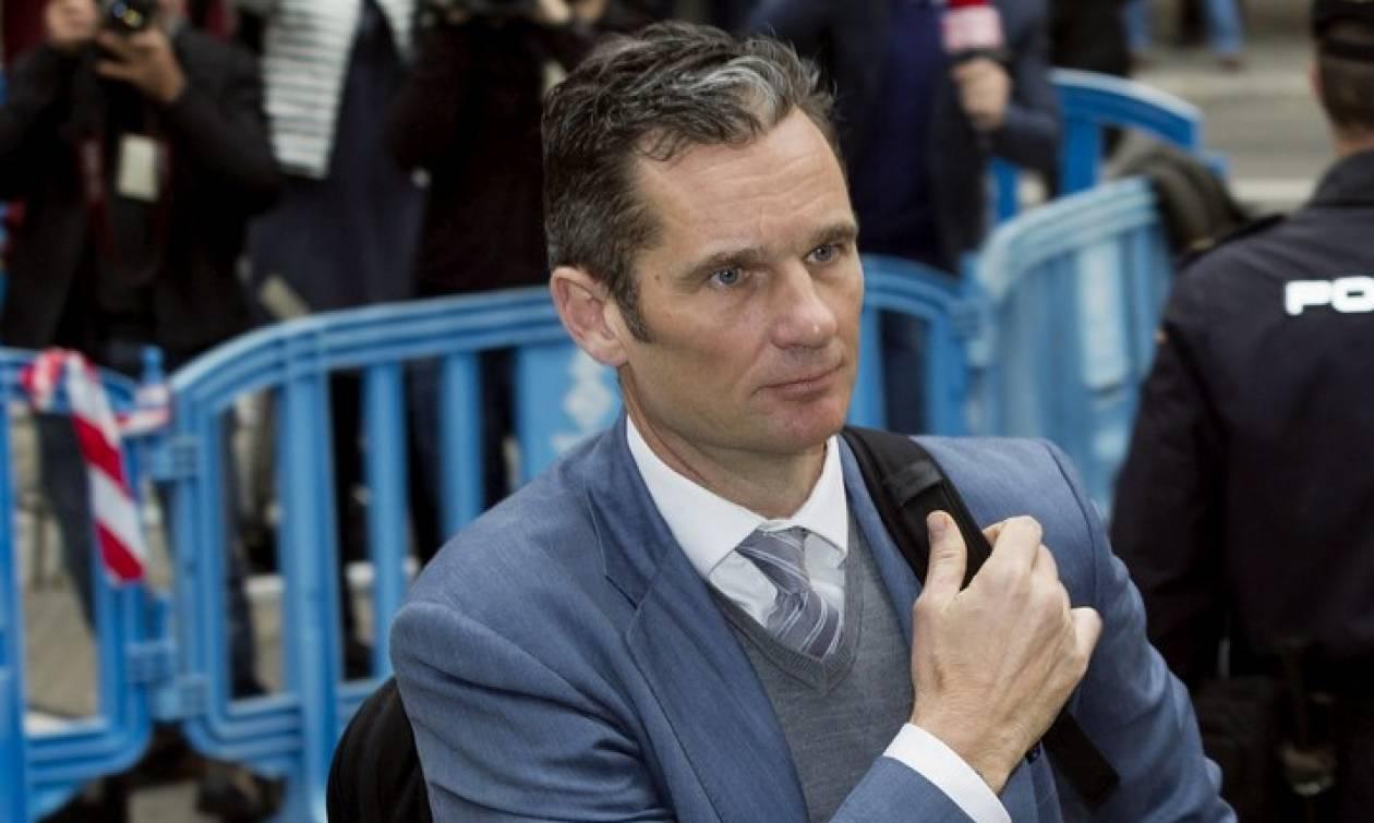 Ισπανία: Διορία πέντε ημερών στον γαμπρό του βασιλιά για να μπει στην φυλακή
