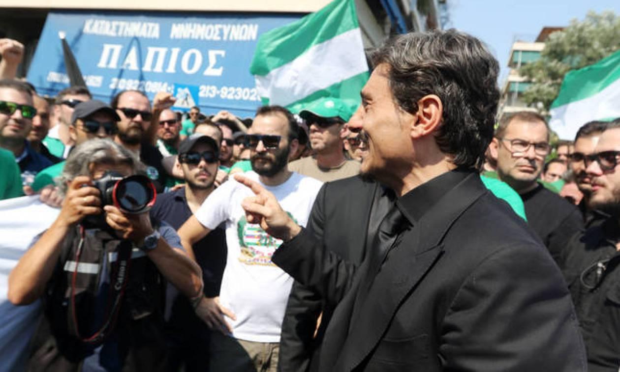 Δ. Γιαννακόπουλος σε οπαδούς: «Θα σας αγαπάει από εκεί που είναι» (video)