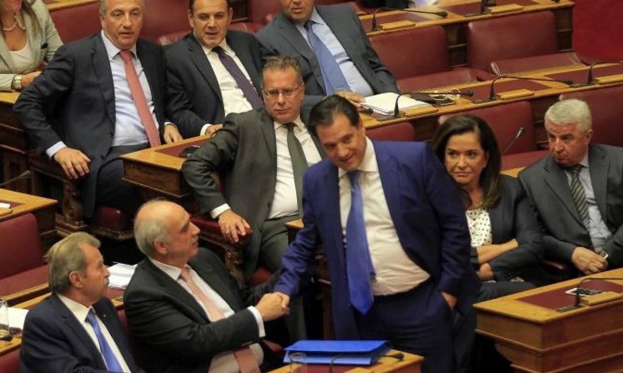 Χαμός στη ΝΔ: «Σφάχτηκαν» Άδωνις – Μεϊμαράκης – Γιατί δεν πήγε στη Βουλή ο Καραμανλής