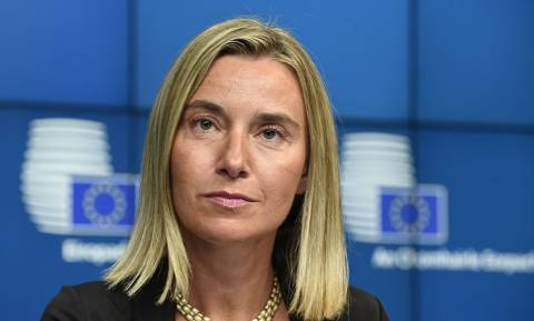 EU's Mogherini: All political groups in Europarliament welcome the Tsipras-Zaev agreement