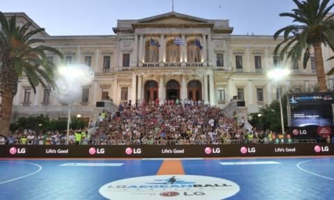 Η LG προσφέρει δωρεάν τη συμμετοχή των «LG Αθλητών του Αύριο» στο 3ο LG AegeanBall Festival
