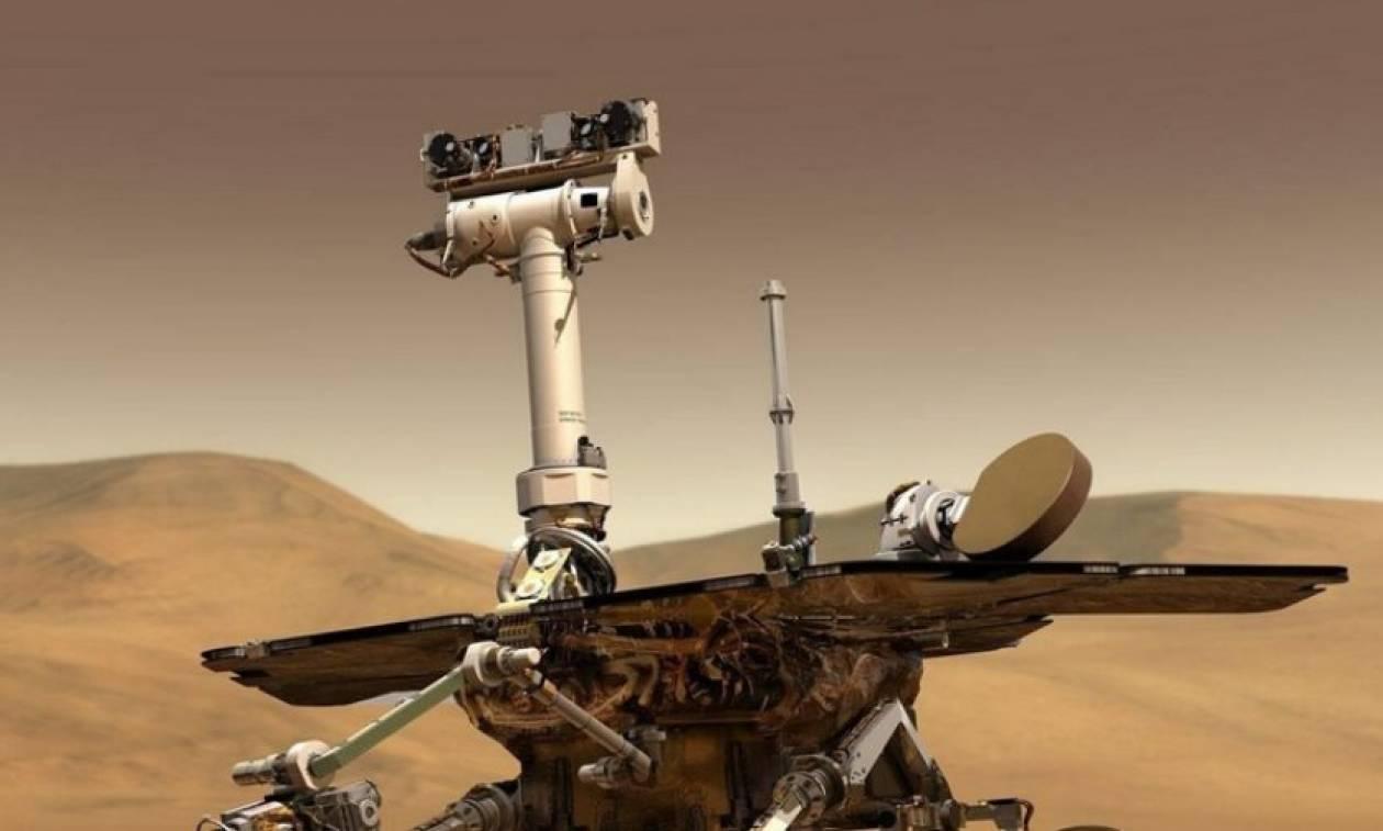 Τρομερή αμμοθύελλα στον Άρη «έκοψε» την επικοινωνία με τη Γη - Σε άμεσο κίνδυνο το «Opportunity»