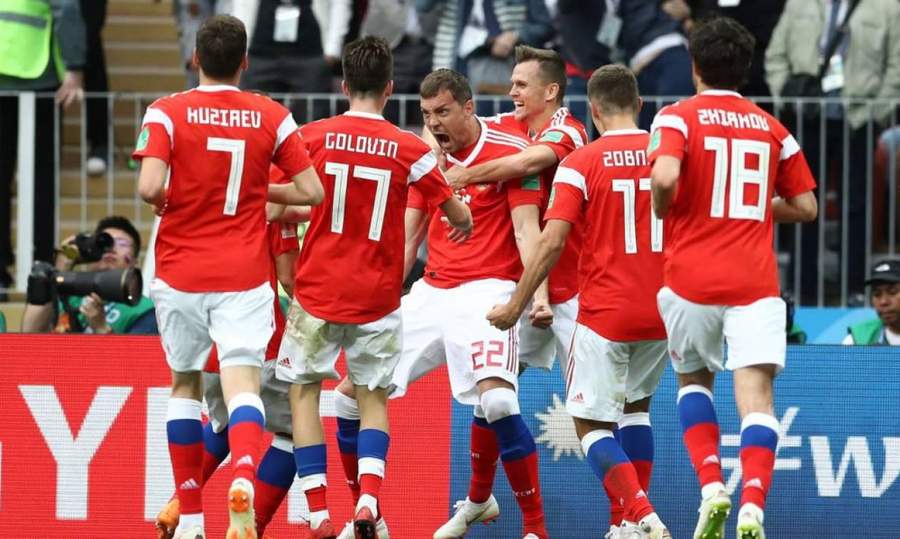 Ρωσία-Σαουδική Αραβία 5-0: Έκανε «πάρτι» στην πρεμιέρα του Μουντιάλ! (video)