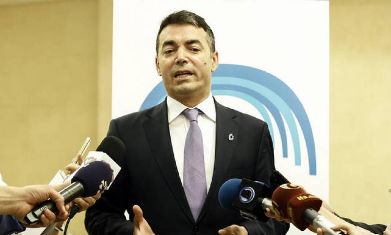 Ντιμιτρόφ: Υπάρχει διάκριση ανάμεσα στη χώρα Μακεδονία και την περιοχή Μακεδονία στην Ελλάδα