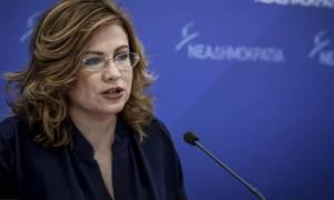 Σπυράκη: Ο Τσίπρας δεν τόλμησε να μετατρέψει την πρόταση δυσπιστίας σε ψήφο εμπιστοσύνης