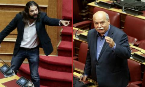 Golden Dawn barred from parliament debate after MP urges military to arrest PM, president