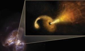 Διάστημα: Τι συμβαίνει όταν μια μαύρη τρύπα «καταπίνει» ένα αστέρι - Δείτε το εντυπωσιακό βίντεο
