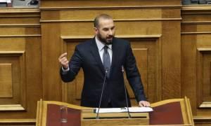 Τζανακόπουλος: Απολογητικός ο Σαμαράς - Η ΝΔ τρέφει το τέρας του εθνικισμού (vid)