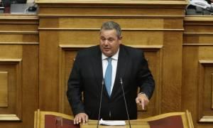 Καμμένος: Ο Μητσοτάκης με την πρόταση μομφής στοχεύει στους ΑΝΕΛ