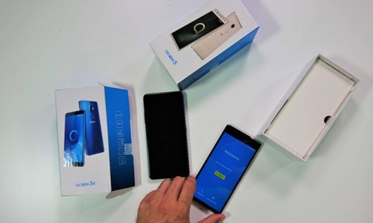 Τα νέα smartphones της Alcatel θα σε καλύψουν πλήρως στις καλοκαιρινές διακοπές σου