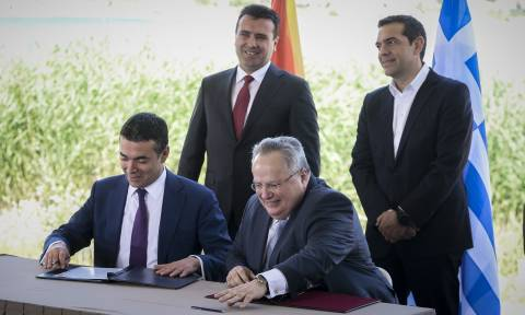 Greece, Skopje sign historic agreement to resolve name dispute