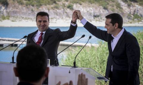 Tsipras: a patriotic and mutually beneficial agreement for the two countries