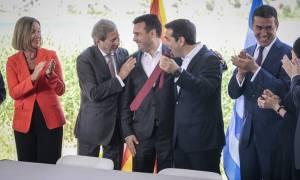 Μογκερίνι για συμφωνία: Ελλάδα και Σκόπια μάς έκαναν υπερήφανους ως Ευρωπαίους