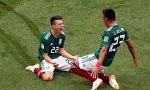 Παγκόσμιο Κύπελλο Ποδοσφαίρου 2018: Το γκολ του Λοσάνο προκάλεσε... «σεισμό» στο Μεξικό