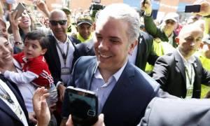 Κολομβία: Θρίαμβος για τον Ιβάν Ντούκε στις προεδρικές εκλογές