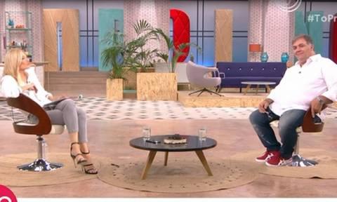 Φαίη Σκορδά: Η απίστευτη ατάκα της on air στον Σταρόβα