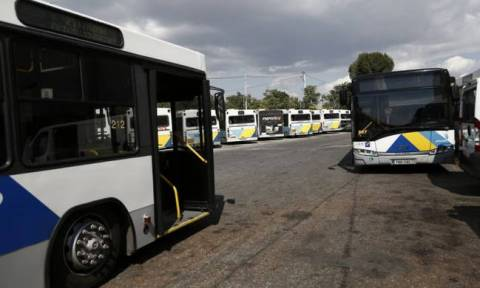 Work stoppages by Athens' bus workers on Tuesday, Thursday