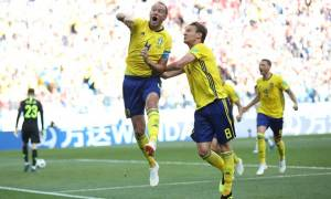 Παγκόσμιο Κύπελλο Ποδοσφαίρου 2018: Το VAR και ο Γκράνκιβστ λύτρωσαν τη Σουηδία!