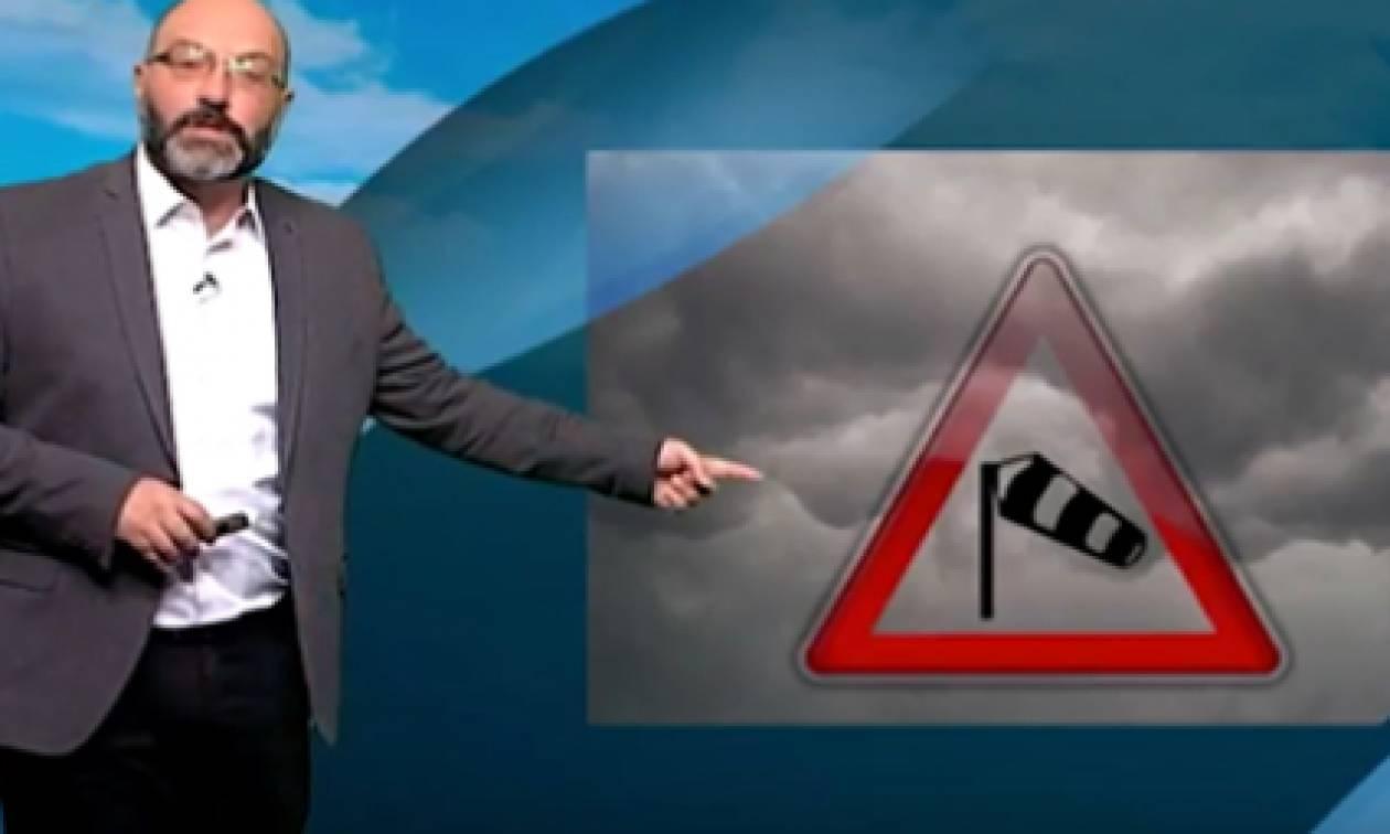 Σάκης Αρναούτογλου: «Προσοχή...» - Πού αναμένονται σήμερα καταιγίδες! (Χάρτες)