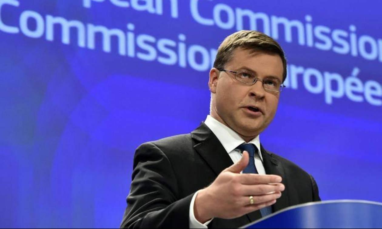 Ντομπρόβσκις: Συνολική συμφωνία για την Ελλάδα στο Eurogroup της 21ης Ιουνίου