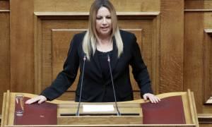 Γεννηματά προς Ευρωπαίους για το Σκοπιανό: Δεν δεχόμαστε υποδείξεις για τη συμφωνία