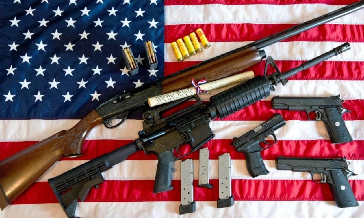 Σοκάρουν τα στοιχεία για την οπλοκατοχή στις ΗΠΑ: Σε κάθε 100 κατοίκους αντιστοιχούν 120 όπλα!