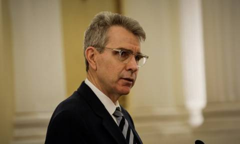 Pyatt: Strong support by the Trump government for Greece's economic recovery