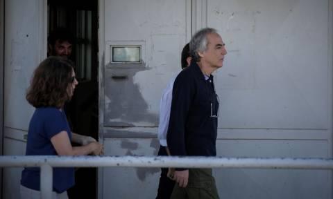 Convicted terrorist Koufodinas leaves Korydallos prison on furlough