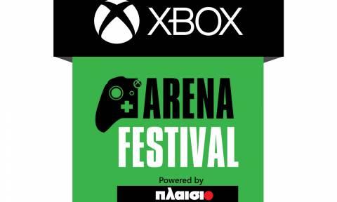 Ο Γιώργος Μαυρίδης παρουσιαστής στο Xbox Arena Festival powered by Πλαίσιο!