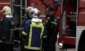 Πυρκαγιά σε γραφεία στο κέντρο της Αθήνας