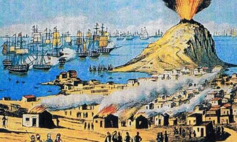 Σαν σήμερα το 1824 οι Τούρκοι καταστρέφουν τα Ψαρά