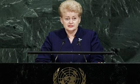 Грибаускайте утверждает, что Литва должна быть готова к нападению России