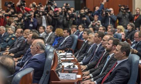 Skopje parliament plenum to ratify agreement with Greece on Wed.