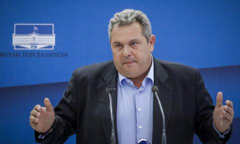 «Κεραυνοί» Καμμένου: Νεοφασίστες και εγκληματίες απειλούν βουλευτές των ΑΝ.ΕΛ για το Σκοπιανό