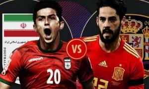Παγκόσμιο Κύπελλο Ποδοσφαίρου 2018: LIVE CHAT Ιράν-Ισπανία