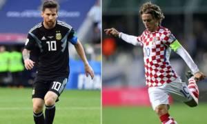 Μουντιάλ 2018: Μάχη Αργεντινής – Κροατίας για την πρωτιά