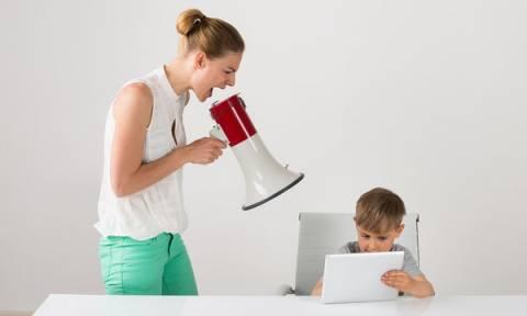 Πώς να φωνάζουμε λιγότερο στα παιδιά μας