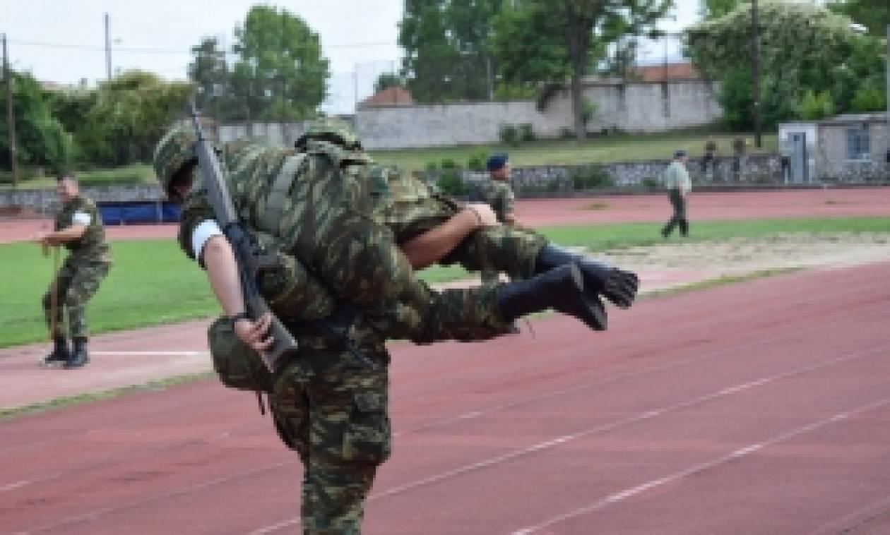 Κοζάνη: Στρατιωτικοί αθλητικοί αγώνες - Βίντεο και φωτογραφίες
