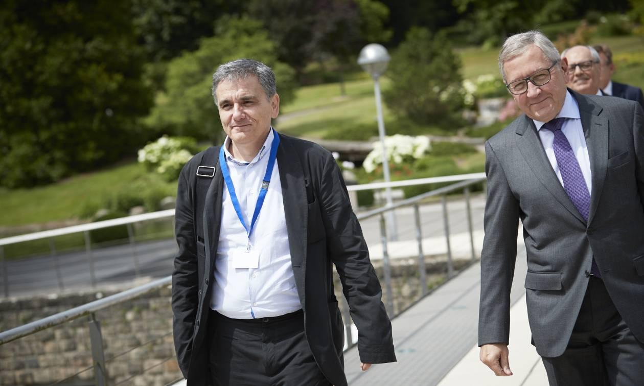 Eurogroup: Τριμερής συνάντηση Τσακαλώτου, Σολτς και Λεμέρ για το χρέος