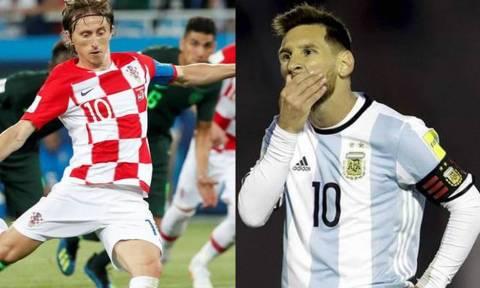 Παγκόσμιο Κύπελλο Ποδοσφαίρου 2018: LIVE CHAT Αργεντινή-Κροατία